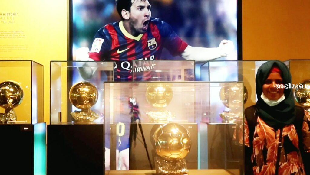 Jushna Shahin: The Kannur girl whose dream of meeting Messi took her to Camp Nou 2