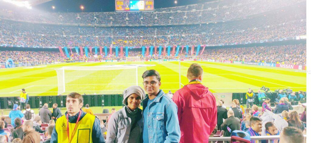 Jushna Shahin: The Kannur girl whose dream of meeting Messi took her to Camp Nou 1