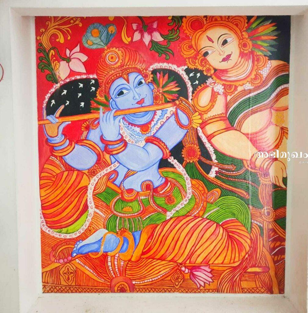 നഴ്സിംഗ് ജോലി, ഗായത്രി, ചിത്രരചന, ചിത്ര രചന, പോളിമര് ക്ലേ ആര്ട്ട്