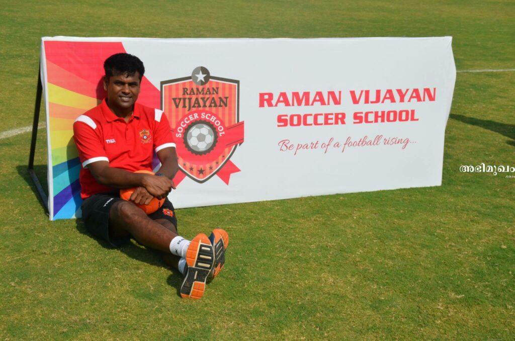 raman vijayan football academy  chennai tamilnadu
